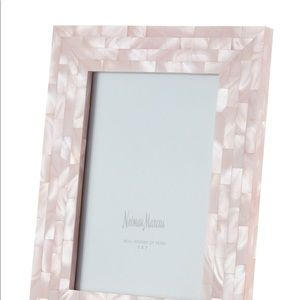 Neiman Marcus real mother of pearl pink 5x7 frame